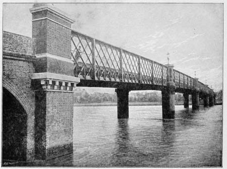 Wandsworth Bridge, James Dredge, 1897