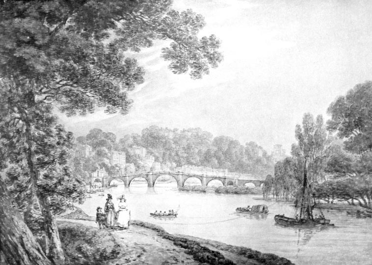 Richmond Bridge, 1790