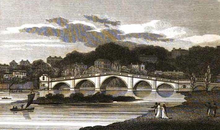 Richmond Bridge, 1802, Ireland