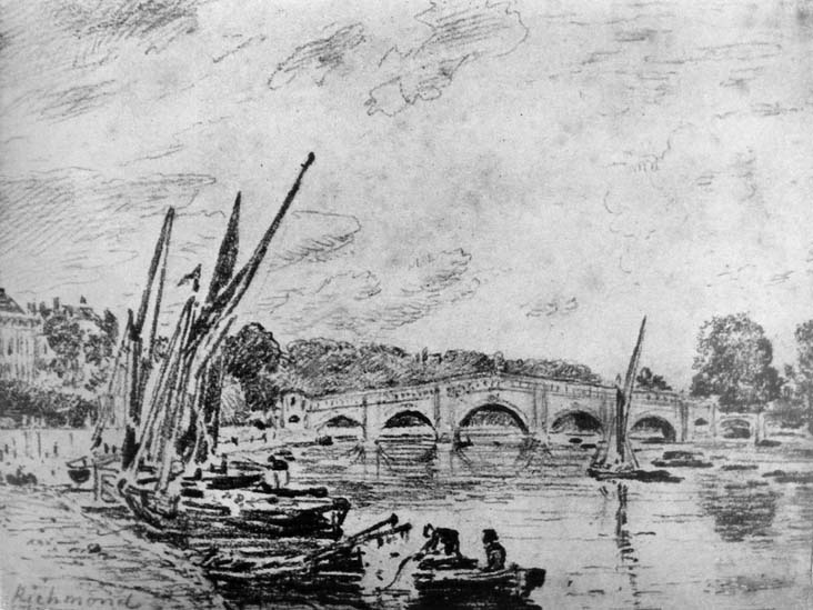 Richmond Bridge, 1818