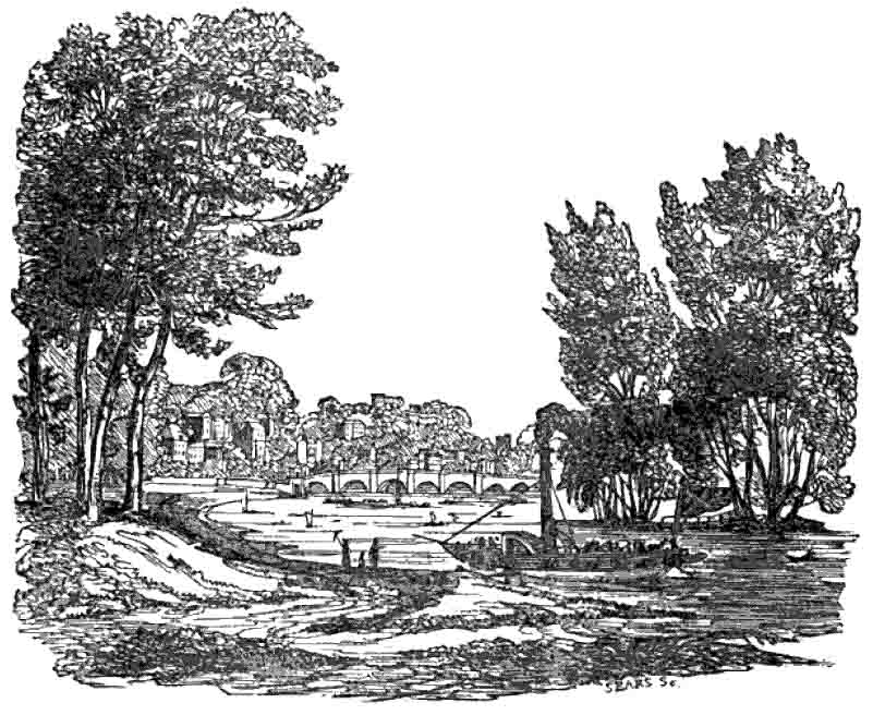 Richmond Bridge, 1835