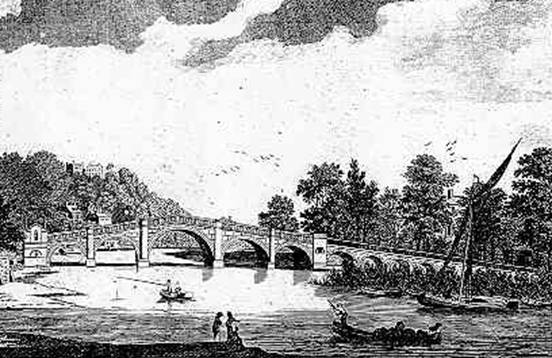 New Bridge, Richmond, 1784?