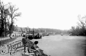 Richmond Bridge, 1899, Frith