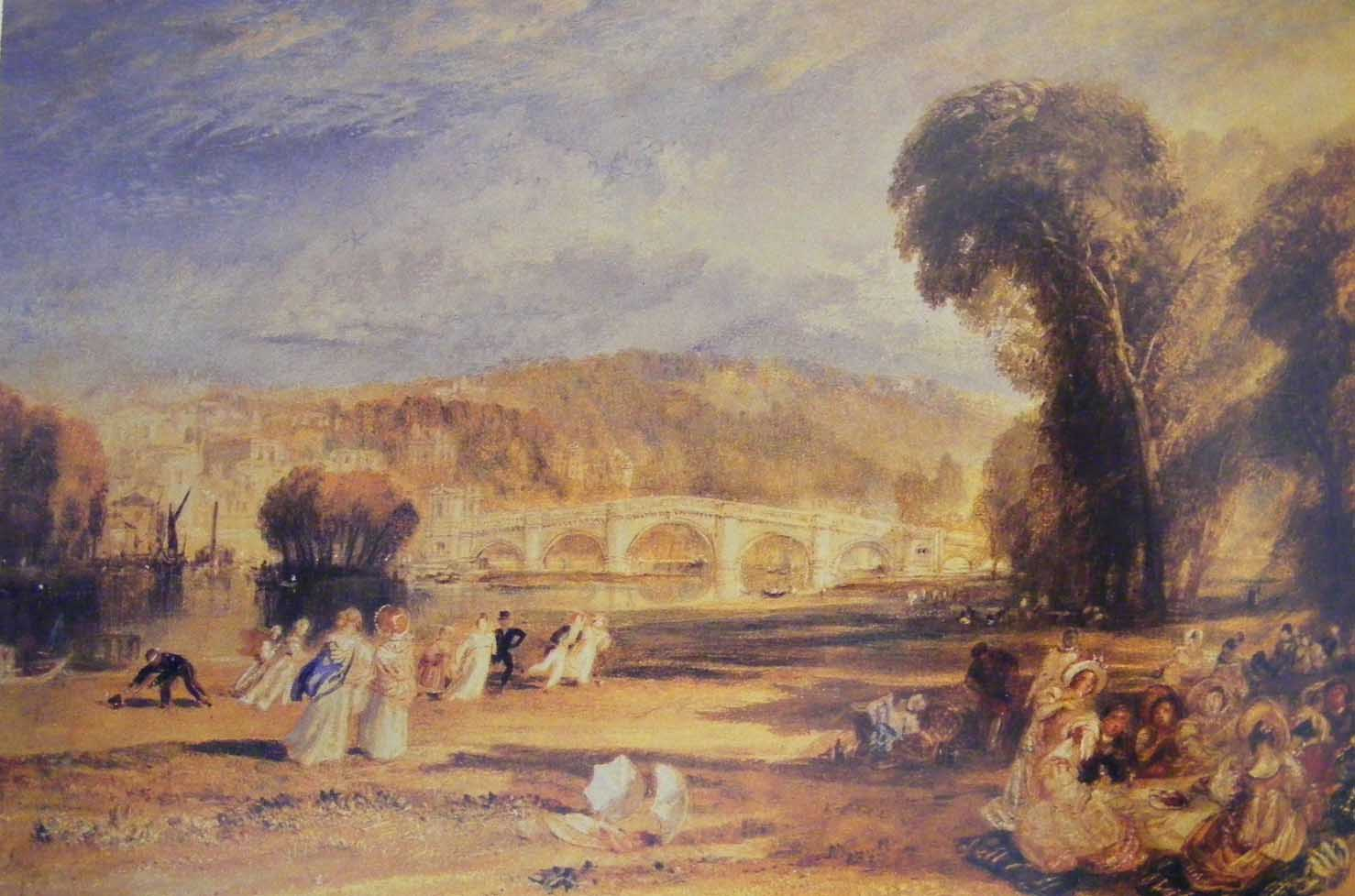 Richmond Bridge, 1808, Turner