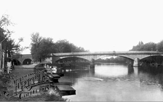 1890:  Staines Bridge, Francis Frith