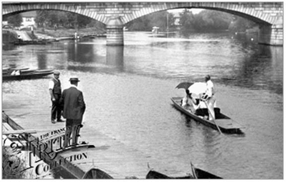 1907:  Staines Bridge, Francis Frith