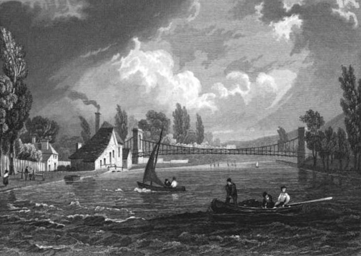 Marlow Suspension Bridge 1832