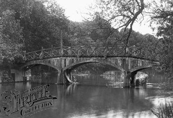 1881: Nuneham Bridge, Francis Frith