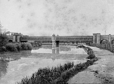 Osney footbridge where thames smooth waters glide for John parker motors houston tx